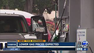 AAA: Expect lower gas prices