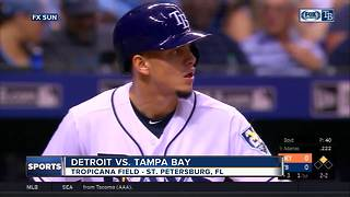 Wilson Ramos hits 3-run homer as Tampa Bay Rays beat Detroit Tigers 5-2 - Video