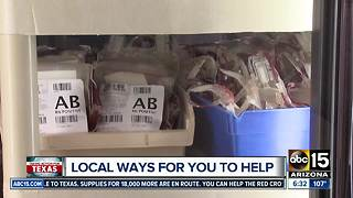 How Arizonans can help Texas flooding victims - Video