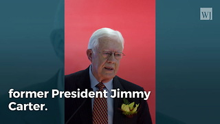 Jimmy Carter: 'I Believe Jesus Would Approve of Gay Marriage' - Video