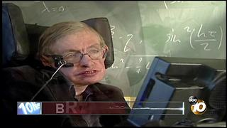 Stephen Hawking dies at 76 - Video