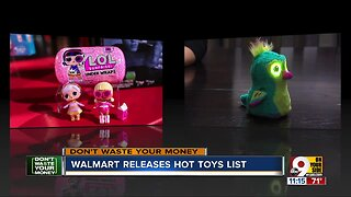 Walmart lists hottest toys for the 2019 season
