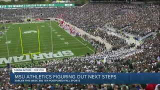 MSU athletics figuring out next steps