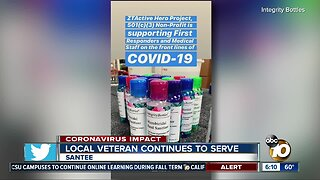 Local military veteran continues to serve others during pandemic