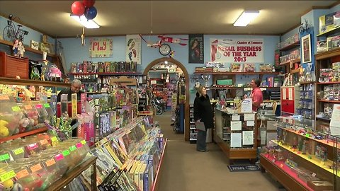 Take a step back in time at this 100 year old Batavia Toy Store