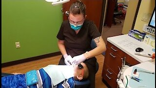 Going To The Dentist: Getting Sealant In My Teeth