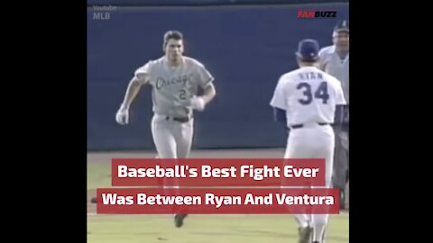 Baseball's Best Fight Ever was Nolan Ryan versus Robin Ventura