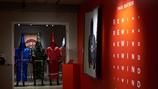 This Art Exhibit Explores Power And Features Colorful KKK Robes - Video