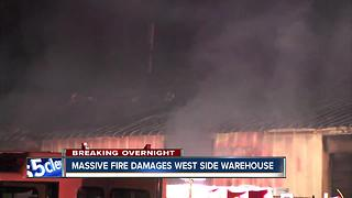 Warehouse Fire - Video