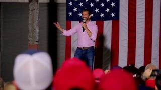 Donald Trump Jr. makes campaign stop in Indian River County