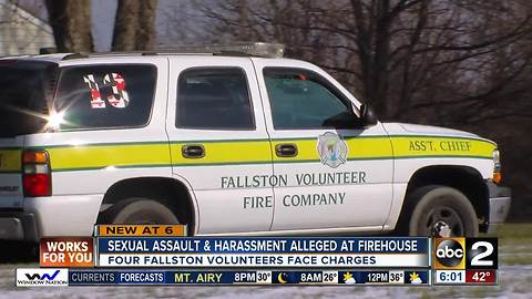 Sexual assault & harassment alleged at firehouse