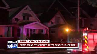 Woman found dead inside burning Buffalo home - Video
