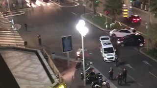 Police Pepper Spray Football Fans in Nice Following Fireworks 'Stampede' - Video