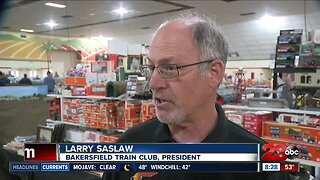 Final day for the 2020 model train show at the Kern County Fairgrounds
