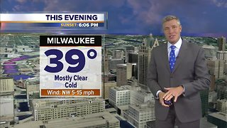 Clear and cold Wednesday night