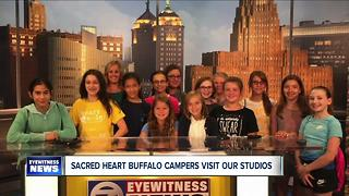 Sacred Heart Summer Camp tours WKBW - Video