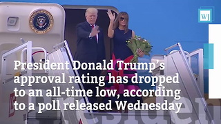 Trump Approval Rating At All-Time Low - Video