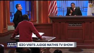 Tom Izzo visits Judge Mathis and laughs a lot - Video