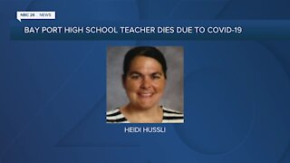 Community remembers teacher who died due to COVID-19