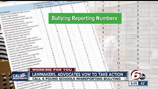 Lawmaker shocked by misreported bullying numbers in Indiana