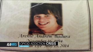 414ward: Opioid addiction crisis - Video