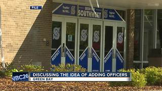 Some Green Bay schools could see more resource officers