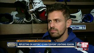 NHL-best Tampa Bay Lightning eager to get started against Columbus Blue Jackets