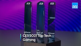 Digital Trends at CES 2021 - Top Tech Awards - Gaming