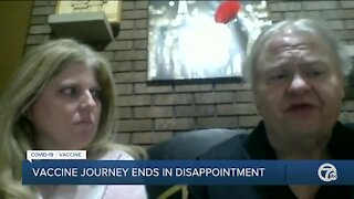 Metro Detroit couple drives to Mississippi in attempt to get COVID-19 vaccine