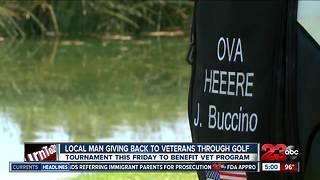 Local Man Hosting Golf Tournament to Give Back to Veterans