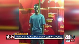 Family of KCMO murder victim seeks justice - Video