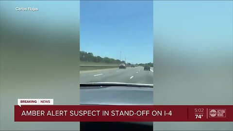 AMBER Alert: 2-year-old boy safely recovered, high-speed chase involving suspect leads to standoff on I-4 exit ramp