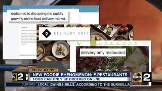New foodie phenomenon: E-Restaurants