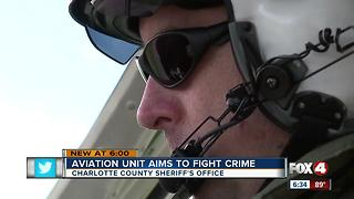 Aviation unit aims to fight crime - Video