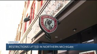 Restrictions lifted in Northern Michigan