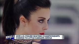 US Figure Skating Championships coming to Detroit in 2019 - Video