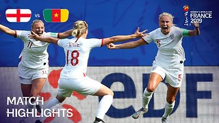 England v Cameroon - FIFA Women's World Cup, Round 16, France 2019™