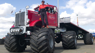 Big Pete - The World's First Monster Truck & Trailer | RIDICULOUS RIDES