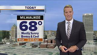 Sunny but cool Friday ahead - Video