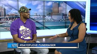 #DayOfLove fundraiser for families who have dealt with trauma