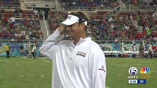 FAU and Kiffin agree to new 10-year contract - Video