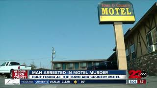 Man arrested in motel murder - Video
