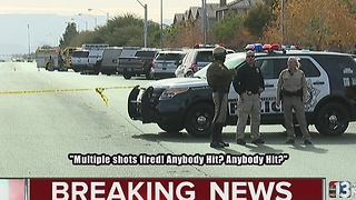 UPDATE: Suspect in custody after barricade, shooting at police - Video