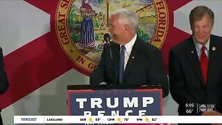 Vice President Mike Pence coming to Tampa for Trump campaign rally