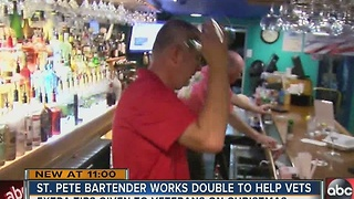 St. Pete Beach bartender donates tips - Video