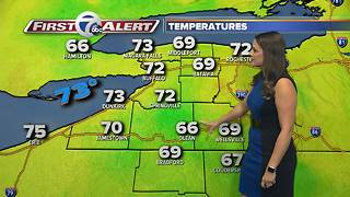 7 First Alert Weather for August 27, 2017 - 6PM - Video