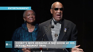 Cosby's Wife Remains A No-Show At His Sexual Assault Trial - Video