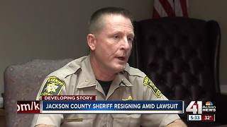 Jackson County sheriff resigning amid controversy from lawsuit, jail situation - Video