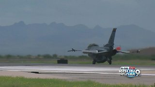 Air Force investigating F-16 Fighting Falcon incident - Video