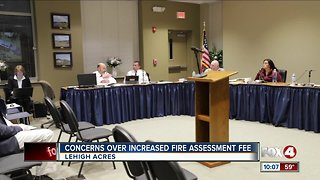Fire assessment increase Lehigh Acres